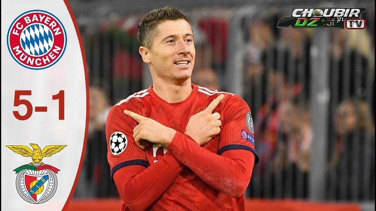 Download Bayern Munich vs Benfica 5-1  Champions League 27/11/2018