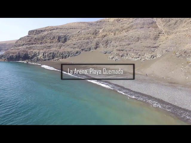La Arena, Playa Quemada (Lanzarote)