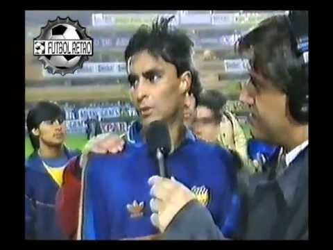 Boca Jrs 1 vs Atletico Mineiro 0 Final Copa Nicolas Leoz 1993  FUTBOL RETRO TV