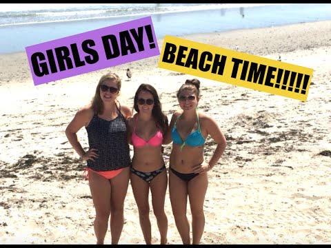 GIRLS DAY AT THE BEACH!