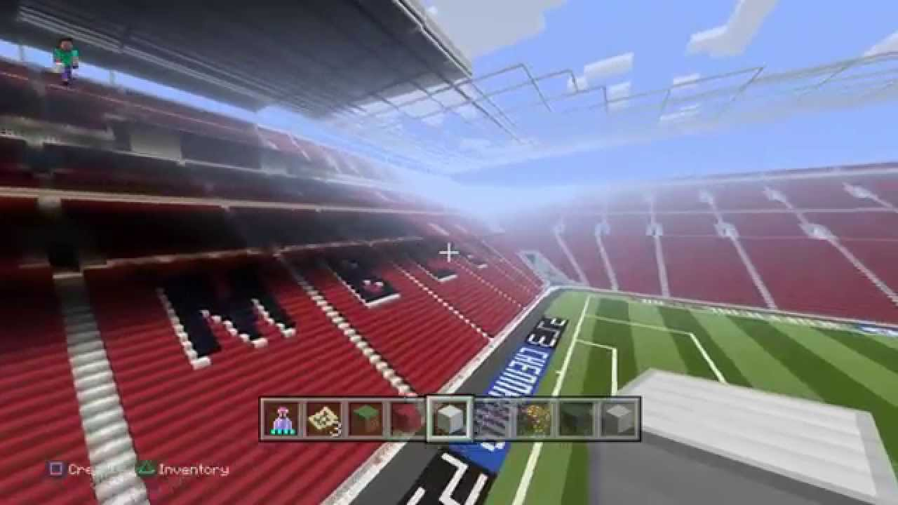 Minecraft playstation4 wembley stadium in progress youtube minecraft playstation4 wembley stadium in progress sciox Gallery