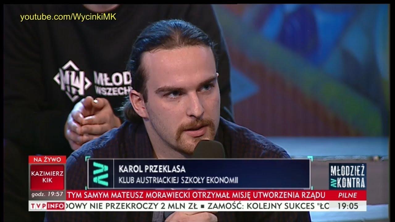 Młodzież kontra 621: Karol Przeklasa (KASE) vs Ryszard Czarnecki (PiS) 09.12.2017
