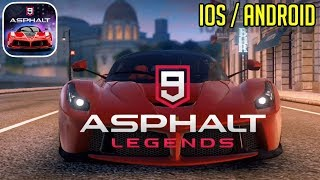ASPHALT 9 LEGENDS - iOS / ANDROID GAMEPLAY