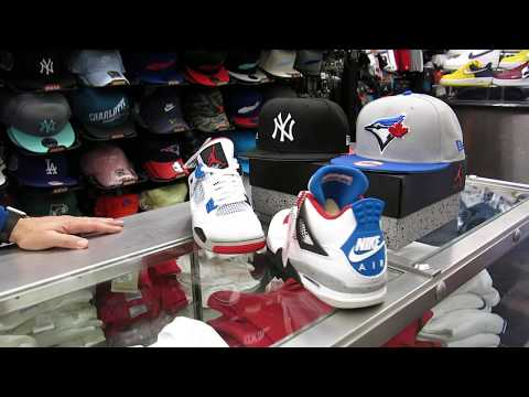 "Nike Air Jordan Retro 4 - ""What the 4"" - at Street Gear, Hempstead NY"