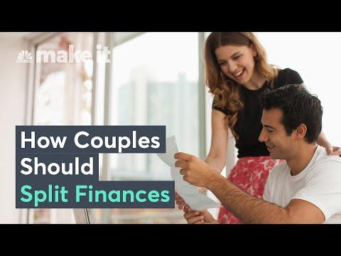 How Couples Should Split Their Finances