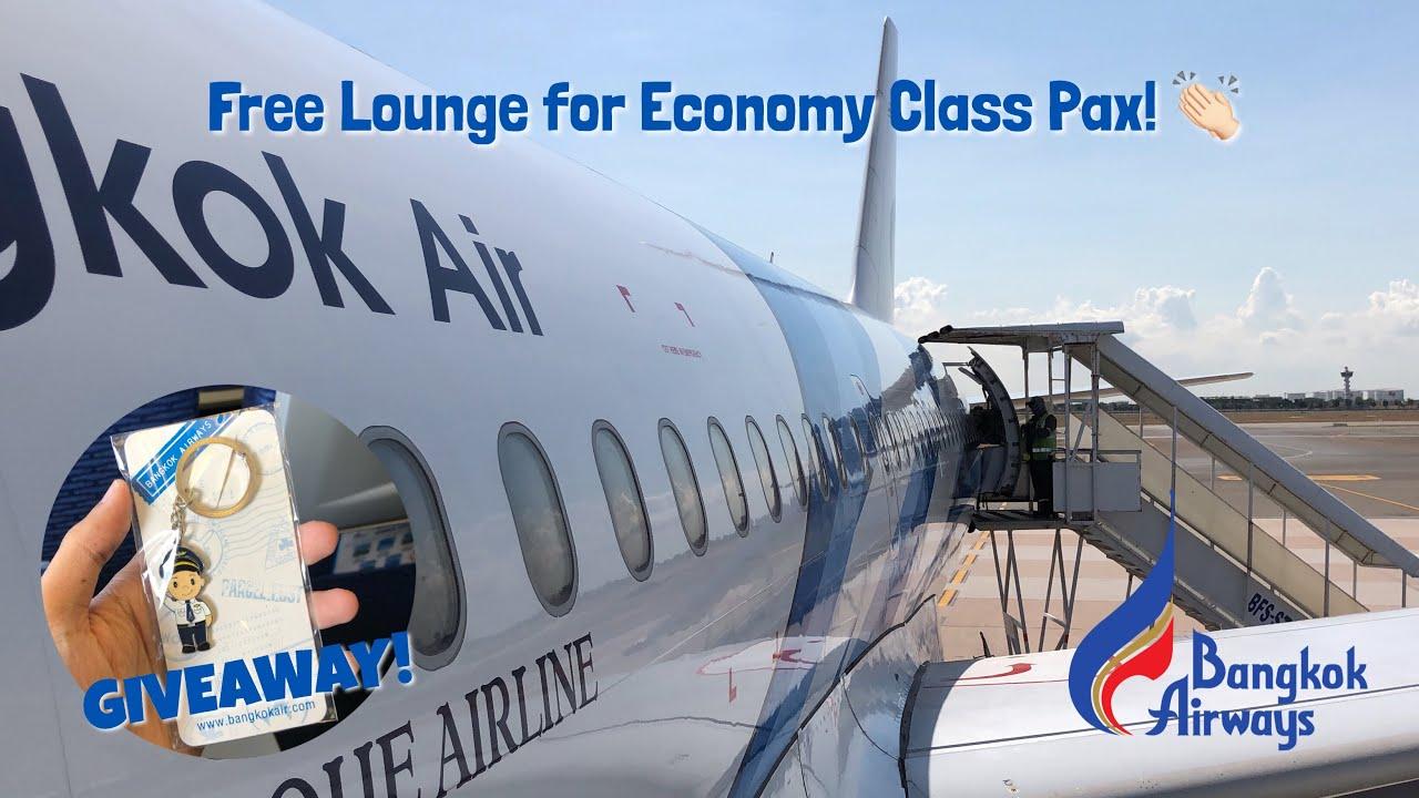Bangkok Airways Airbus A319 Flight Experience | Bangkok – Chiang Mai | PG223