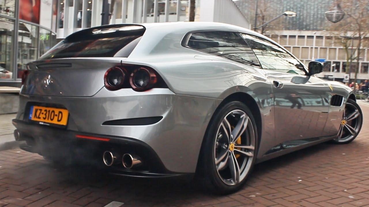 2017 Ferrari GTC4Lusso Cold Start (Exhaust Sound)
