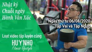 Serie Tập Luyện Tнeo Kiểu Vận Động Viên   Tập 4: NGÀY TẬP VAI VÀ TẬP NGỰC của Huy Nhố Fitness
