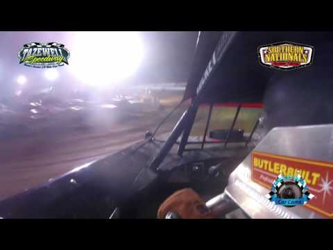 #11 Tommy Bailey - Super Late Model - 7-2-17 Tazewell Speedway - In-Car Camera