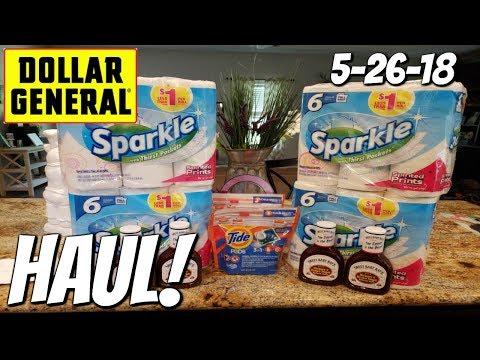 DOLLAR GENERAL HAUL 5/26/18!  DID IT WORK??
