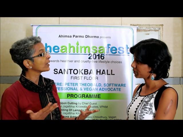 The Ahimsa Fest 2016: Dr Nandita Shah, SHARAN