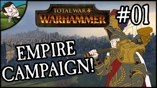Let's Play - Total War WARHAMMER Empire Campaign (Karl Franz) - Part 1!