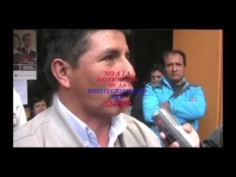 SUTEP REGIONAL CAJAMARCA RECHAZA ANARQUISMO  DIVISIONISTA....