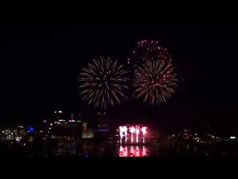 Pittsburgh 4th Of July Fireworks Display 2017