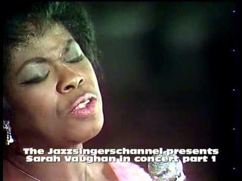 Sarah Vaughan in concert Paris 1969 Broken hearted melody Misty