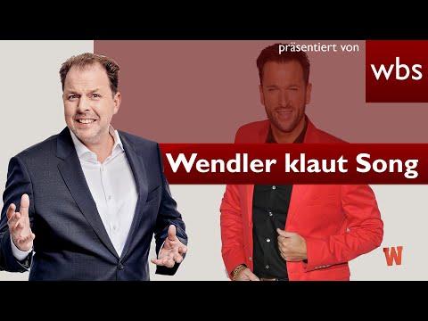 EGAL? Wendler klaut Reim-Song - Das wird teuer | Anwalt Christian Solmecke