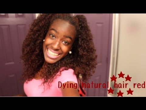 DYING NATURAL HAIR With Shea Moisture Color System In