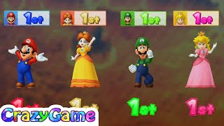 Mario Party 10 - Bowser's Bad Breath w/ other Minigames Gameplay