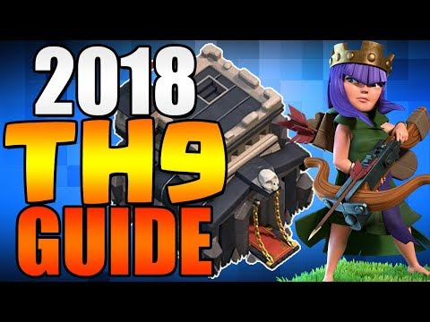 2018 TH8.5 TH9 UPGRADE GUIDE | Clash of Clans