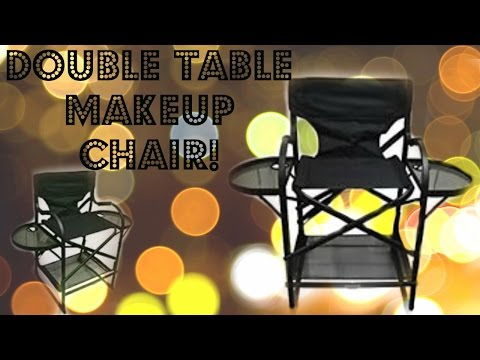 Professional Hairstylist | Makeup Artist Directors Chair  | Amazon  Unboxing & review