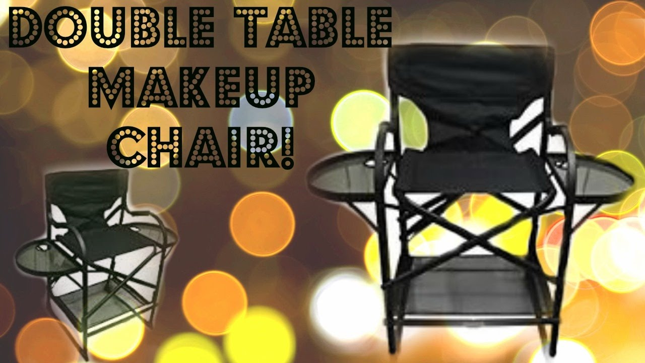 Professional Hairstylist   Makeup Artist Directors Chair   Amazon Unboxing & review