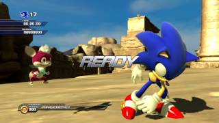 Sonic Unleashed (PS3) Shamar Arid Sands Daytime Stages