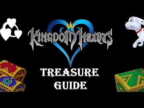 Kingdom Hearts Complete Treasure Chest And Item Guide