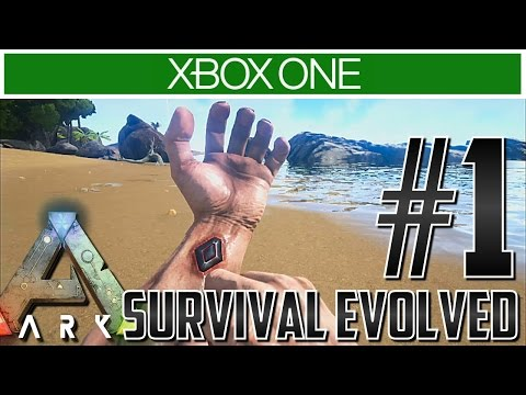 Ark Xbox One Let's Play Gameplay!! Ep 1 - CAN I SURVIVE?