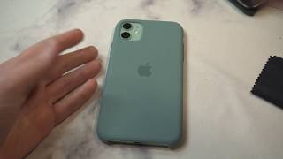 Official iPhone 11 Silicone Case - Cactus Green Review