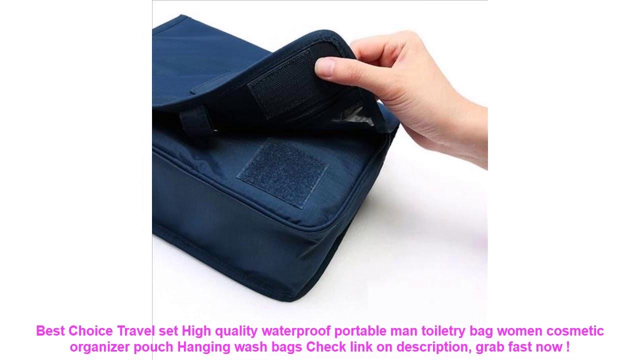 759c8e758f30 Travel set High quality waterproof portable man toiletry bag women cos