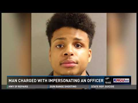 Man pretending to be cop arrested thanks to quick thinking couple