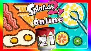 🔴 SPLATOON 2 ONLINE Part 21: Splatfest - Frühstück warm vs. Frühstück kalt - Live
