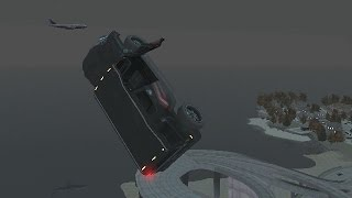 GTA 4 - Приколы с качелями