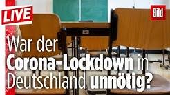 🔴 Corona-Forscher und Virologe Prof. Streeck kritisiert deutschen Lockdown | BILD Live
