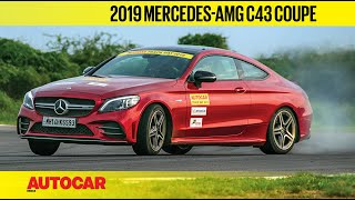 TRACK DAY 2019 : Mercedes-AMG C43 Coupe | Hot Lap | Autocar India
