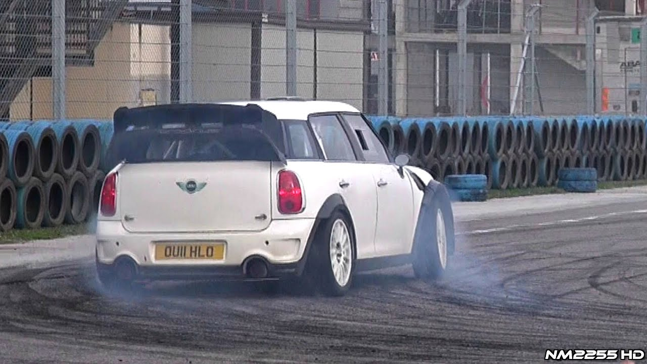 Rally Car Wallpaper Snow Insane Anti Lag Mini Countryman Jcw Wrc Youtube