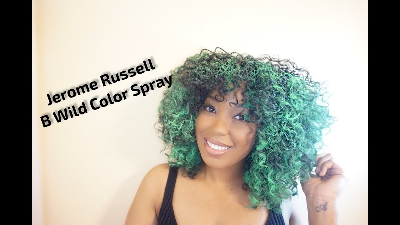Jerome Russell B Wild Hair Color Jaguar Green Youtube