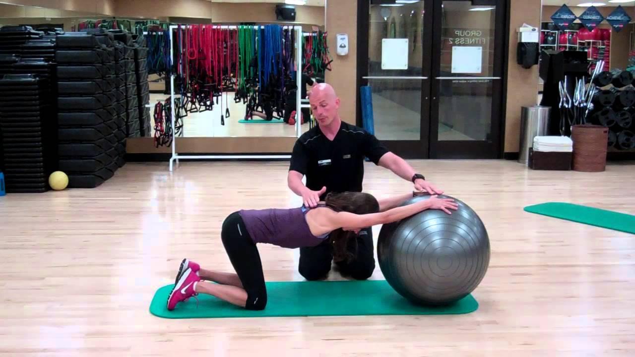 Ball stretching videos