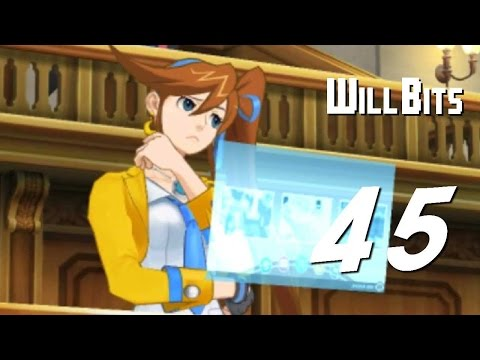 Inside the Actor's Therapy Session -- Ace Attorney: Spirit of Justice, PART 45