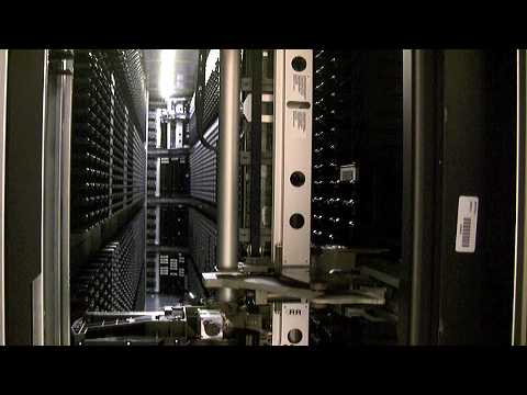 Supercomputing - Robots Move Data Inside NCAR
