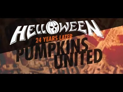 """Helloween """"classic lineup"""" tease new song Pumpkins United + tour to kick off!"""