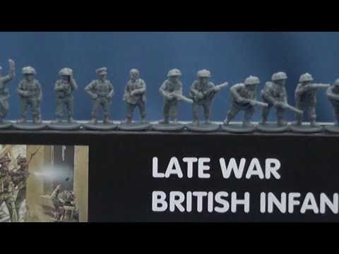 The Plastic Solider Company's 15mm British infantry 1944-45