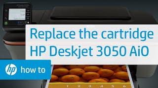 Replacing a Cartridge - HP Deskjet 3050 All-in-One Printer(, 2011-07-05T20:20:09.000Z)