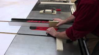 Make A Quick And Simple Cabinet Door, Solely On A Sawstop