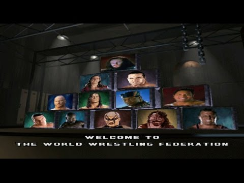 WWF War Zone PlayStation 1 Owen Hart Challenge Mode