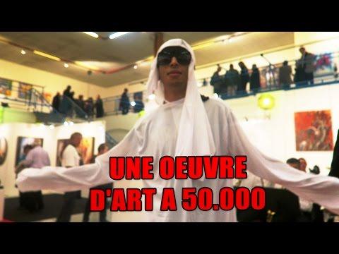 JE ME FAIS PASSER POUR UN QATARI  ET J'ACHÈTE UN TABLEAU A 50.000 EURO