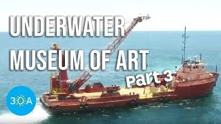 LIVE Underwater Museum of Art Deployment ⚓️ Pt. 3