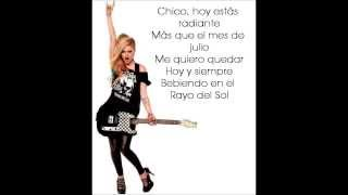 Avril Lavigne - Sippin' On Sunshine [Traducida al Español]