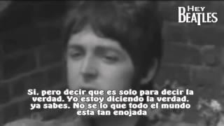 Paul McCartney habla del LSD (Subtitulado)
