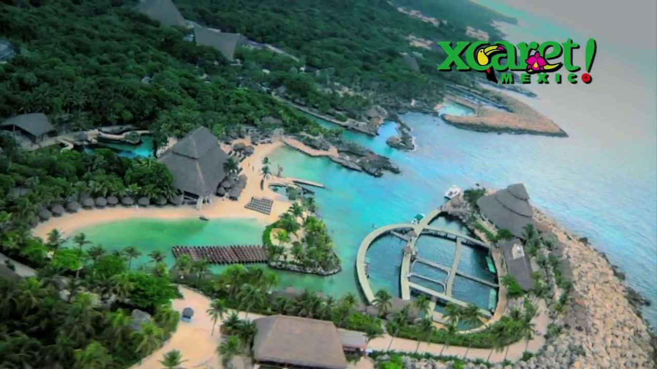 xcaret park riviera maya attractions - youtube